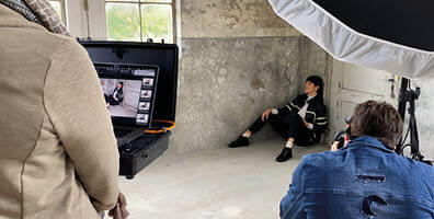 Wolky behind the scenes AW21